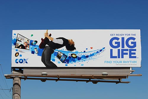 bulletin billboard size rental in arizona